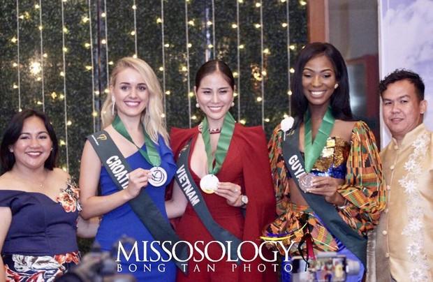 Biến hoá độc đáo, Hoàng Hạnh mang về huy chương vàng phần thi bikini tại Hoa hậu Trái đất - Ảnh 3.