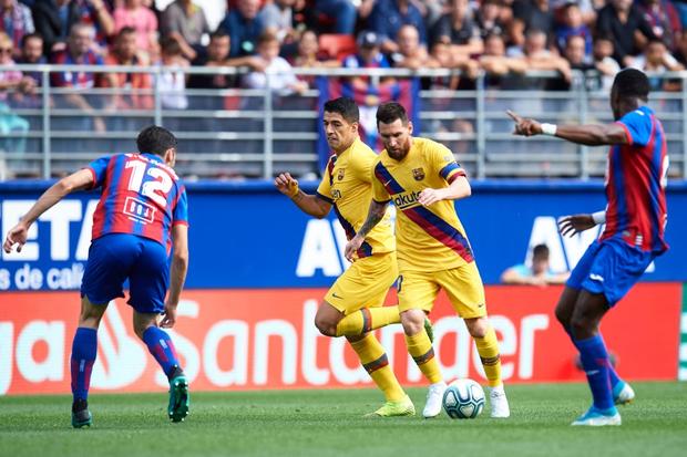 Bộ ba siêu sao trị giá 330 triệu euro cùng nổ súng, Barcelona đại thắng tại vòng 9 La Liga - Ảnh 1.