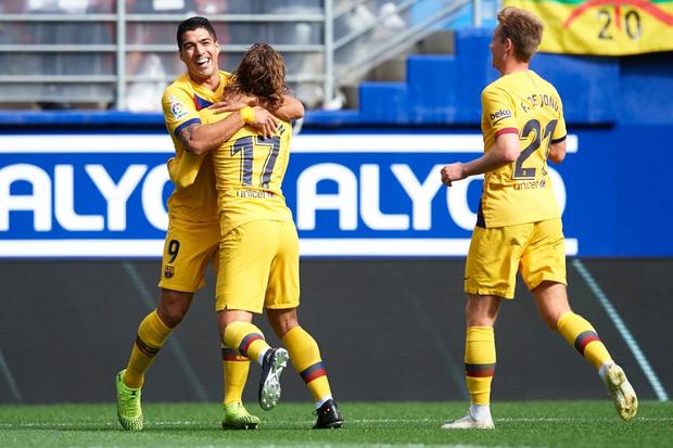 Bộ ba siêu sao trị giá 330 triệu euro cùng nổ súng, Barcelona đại thắng tại vòng 9 La Liga - Ảnh 7.