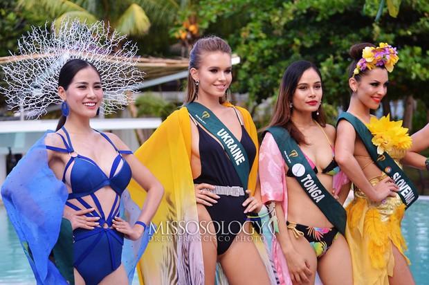 Biến hoá độc đáo, Hoàng Hạnh mang về huy chương vàng phần thi bikini tại Hoa hậu Trái đất - Ảnh 5.