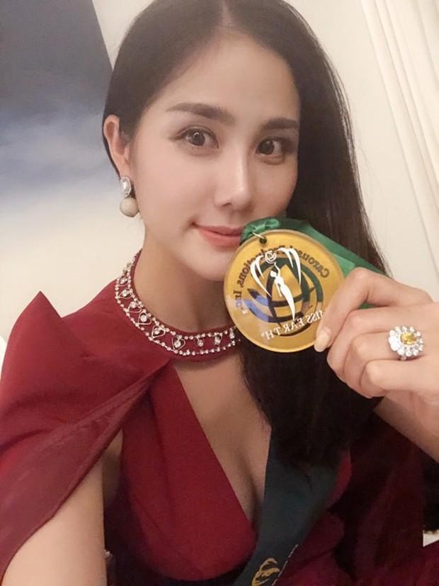 Biến hoá độc đáo, Hoàng Hạnh mang về huy chương vàng phần thi bikini tại Hoa hậu Trái đất - Ảnh 4.