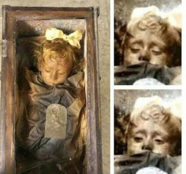 Bí ẩn về thiên thần say ngủ: Xác ướp bé gái gần trăm năm vẫn còn chớp mắt khiến ai cũng lạnh người - Ảnh 3.