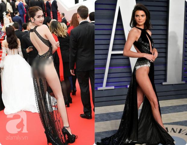 Khoe quần jeans trước sau như một, tưởng không ai dám mặc hóa ra Ngọc Trinh lại đụng hàng với Kendall Jenner - Ảnh 8.