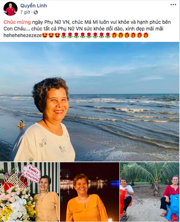Sao Vbiz ngày 20/10: Vợ chồng Hà Tăng, Thủy Tiên cực ngọt ngào sau 10 năm gắn bó, Dương Khắc Linh tặng vợ quà khó đỡ - Ảnh 7.