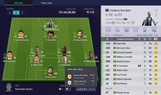 Tính năng mới của FIFA Online 4 khiến chỉ số cầu thủ cao như hack, đội hình dỏm chẳng khác gì đại gia - Ảnh 3.