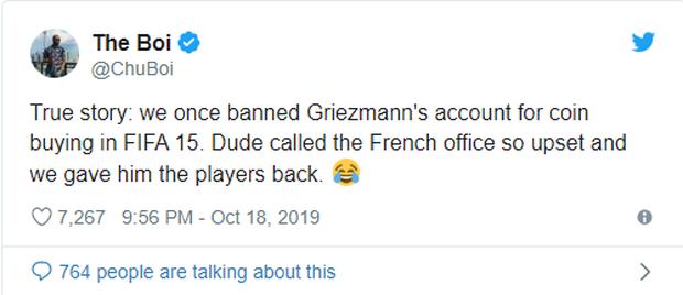 Ngôi sao Antoine Griezmann từng bị cấm trong FIFA vì mua coin không hợp lệ - Ảnh 2.