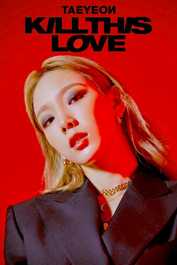 Taeyeon vừa tung ảnh mới, fan BLACKPINK nhận ngay tiền bối làm trùm cuối: Thần thái hút hồn quá hợp concept Kill This Love! - Ảnh 3.