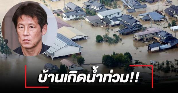 Nhà cửa tan hoang sau siêu bão khủng khiếp nhất lịch sử, HLV tuyển Thái Lan tạm dừng công việc về Nhật Bản gấp - Ảnh 1.
