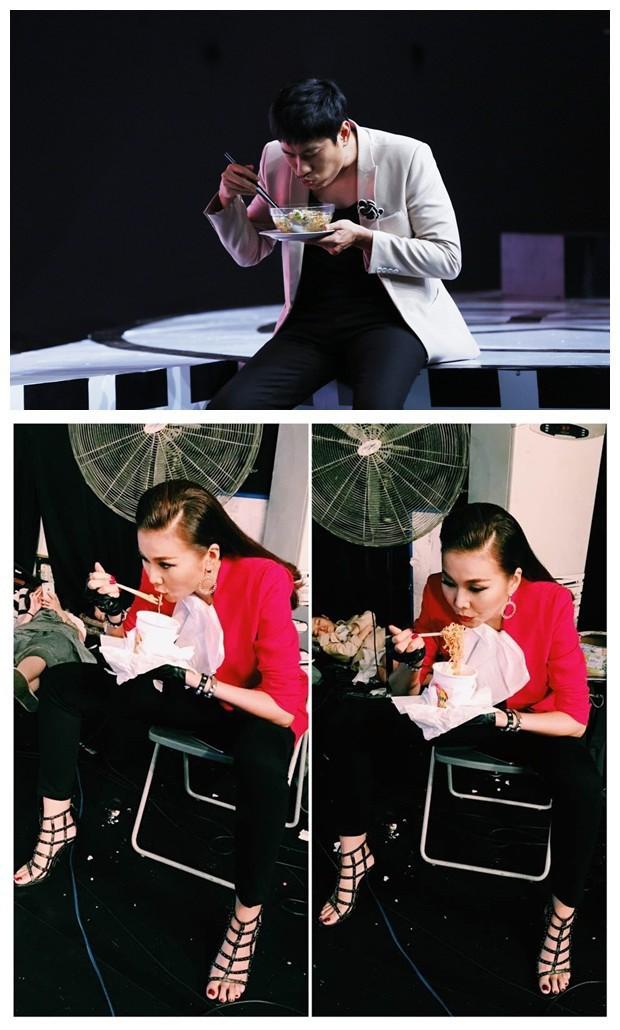 Đêm 20/10 cô đơn của Chi Pu: Vẫn là chỉ có mì ăn liền làm bạn khi làm việc đến quên cả ăn, mẹ thì không có nhà - Ảnh 4.