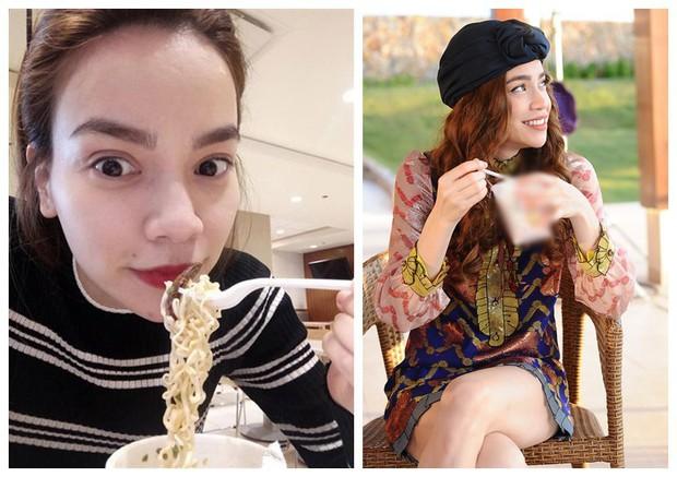 Đêm 20/10 cô đơn của Chi Pu: Vẫn là chỉ có mì ăn liền làm bạn khi làm việc đến quên cả ăn, mẹ thì không có nhà - Ảnh 5.