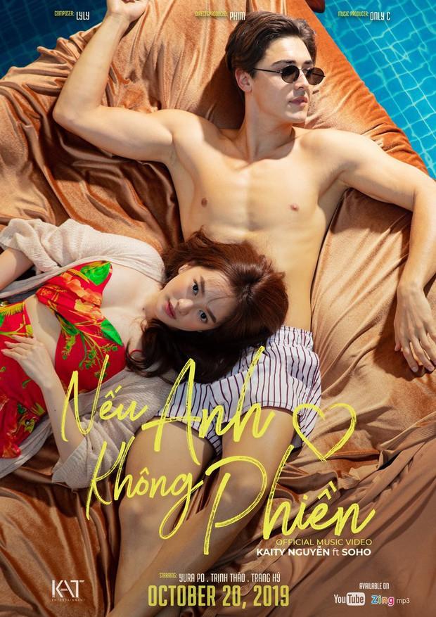 Đỏ mặt nhìn Kaity Nguyễn thân mật cùng cực phẩm nam thần người Nga bên hồ bơi trong MV debut! - Ảnh 2.