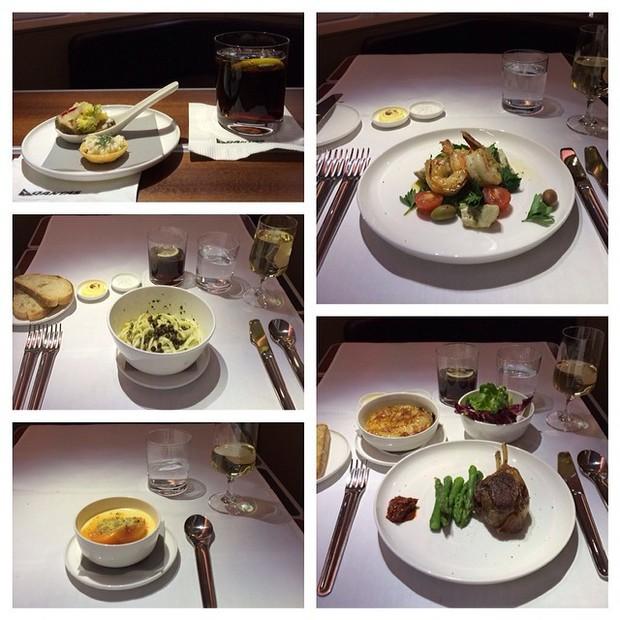 Suất ăn hạng nhất của 15 hãng hàng không này sẽ làm thay đổi quan niệm của bạn về chuyện ăn uống trên máy bay - Ảnh 43.