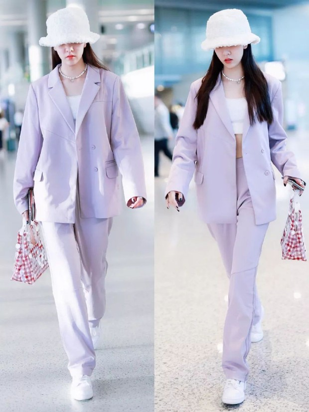 Mix đồ đỉnh là phải thế: Cùng 1 chiếc blazer mà Jennie, Jisoo, Dương Mịch… mỗi người diện 1 kiểu - Ảnh 2.