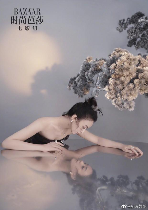 Trọn bộ ảnh chụp tạp chí của Triệu Lệ Dĩnh: Đẹp xuất thần đến khó tin hay lại vô hồn đến gượng gạo? - Ảnh 9.