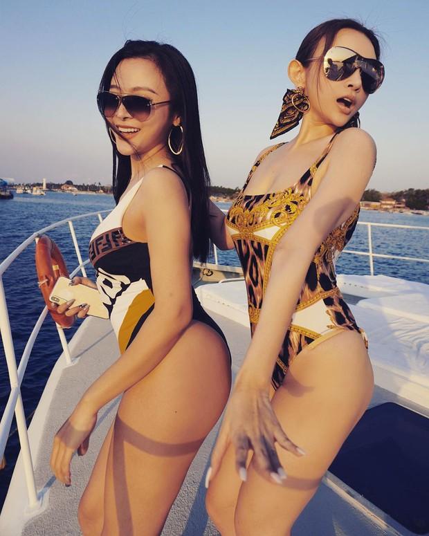 Huyền Baby rủ hội chị em thả dáng trên du thuyền ở Bali, khoe body cực căng chào tuổi 30 - Ảnh 3.