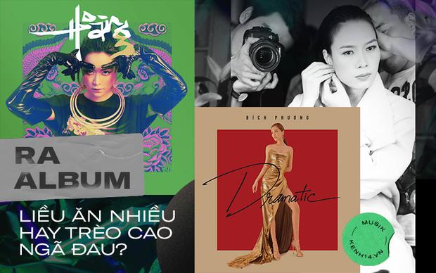 Phát hành album tại Việt Nam: Có nên liều ăn nhiều hay mãi e sợ trèo cao té đau? - Ảnh 1.