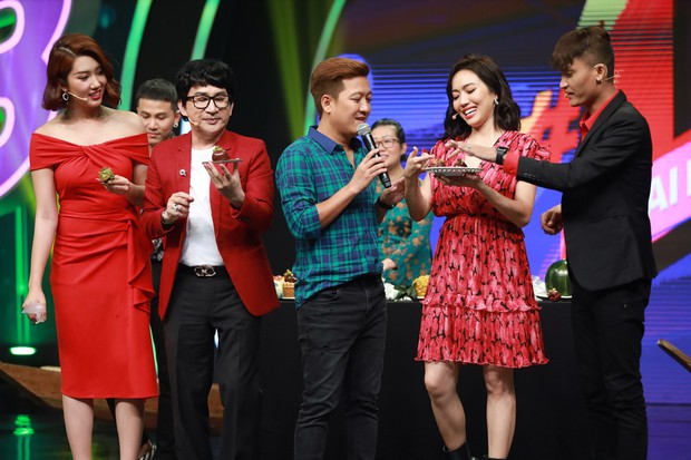 Diệu Nhi xứng đáng với danh hiệu Thánh ăn bất chấp trong làng gameshow - Ảnh 11.