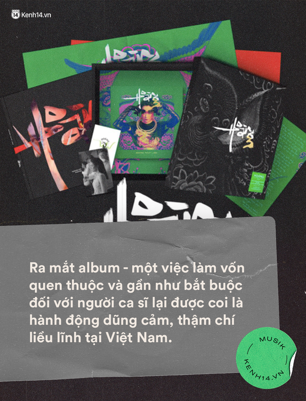 Phát hành album tại Việt Nam: Có nên liều ăn nhiều hay mãi e sợ trèo cao té đau? - Ảnh 2.