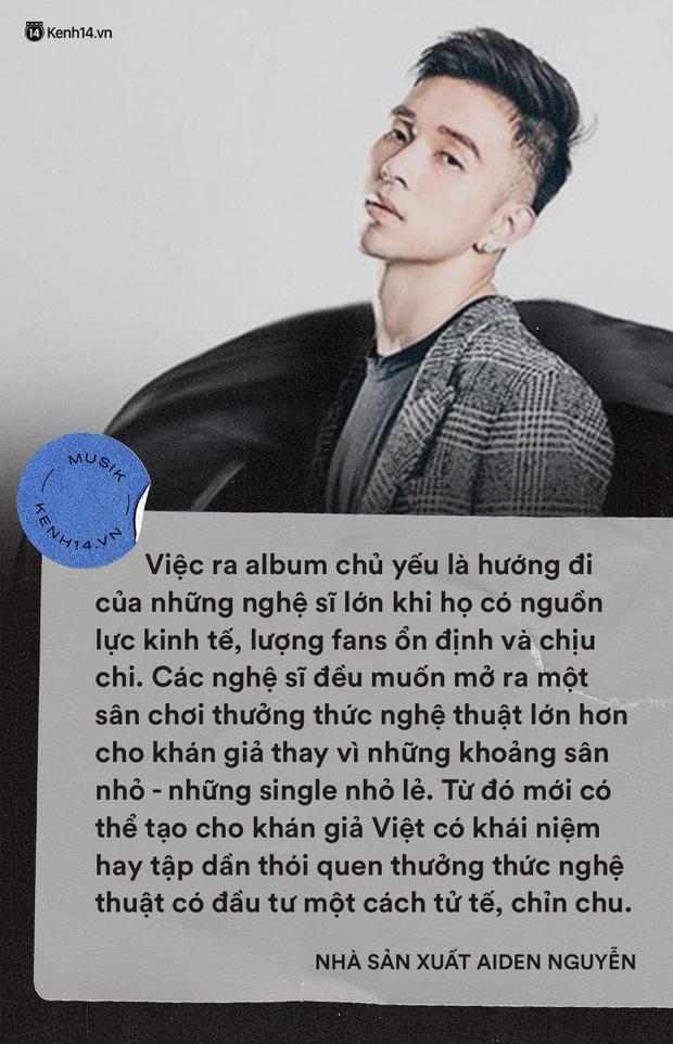 Phát hành album tại Việt Nam: Có nên liều ăn nhiều hay mãi e sợ trèo cao té đau? - Ảnh 4.