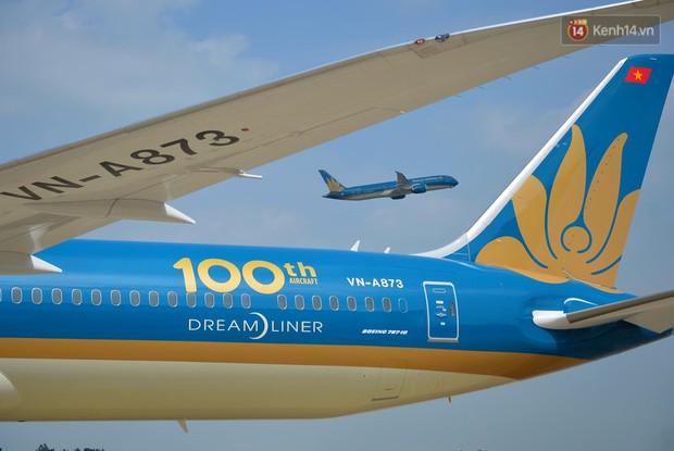 Vietn.am Airlines đón chiếc máy b.ay thứ 100, bổ sung máy b.ay thân rộng vào đoàn b.ay hiện đại - Ảnh 1.