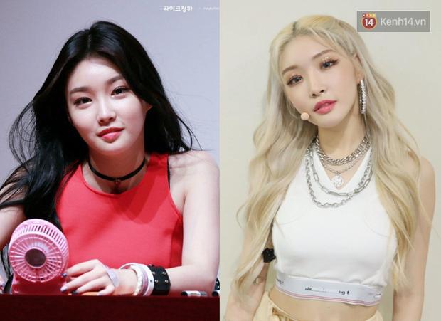 10 idol Hàn đẹp xuất thần khi để tóc vàng bạch kim chứng minh: đổi màu tóc, đời sang trang - Ảnh 6.