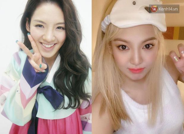 10 idol Hàn đẹp xuất thần khi để tóc vàng bạch kim chứng minh: đổi màu tóc, đời sang trang - Ảnh 7.