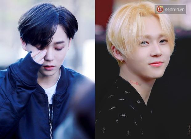 10 idol Hàn đẹp xuất thần khi để tóc vàng bạch kim chứng minh: đổi màu tóc, đời sang trang - Ảnh 9.