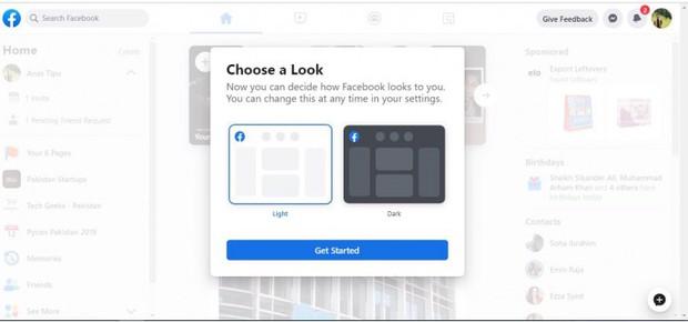 Xem Facebook web lột xác siêu lạ: Chữ to sạch đẹp như vở cấp 1, hết trắng tinh khôi lại đến Dark Mode - Ảnh 5.