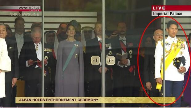Dân mạng phát sốt với Hoàng tử Brunei lịch lãm trong Lễ đăng quang của Nhật hoàng Naruhito, lý lịch đúng chuẩn đẹp trai, nhà giàu, tài giỏi - Ảnh 1.