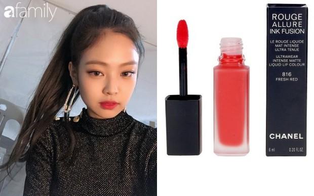7 màu son làm nên diện mạo siêu xinh siêu sang của Jennie (Black Pink), ngắm rồi bạn sẽ muốn thử bằng hết - Ảnh 6.