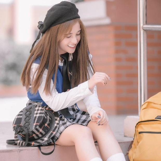 5 nữ sinh đang đi học bỗng nổi tiếng và thành hotgirl: Người được ví như Nancy Hàn Quốc, người bị nhầm là hotgirl Trung Quốc - Ảnh 2.