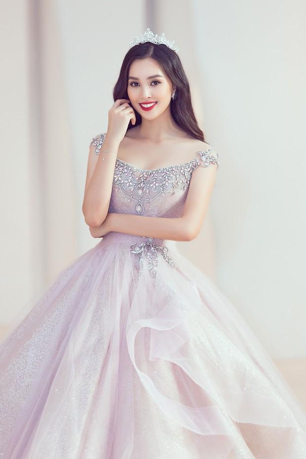 Khoảnh khắc xinh đẹp: Dàn Hoa hậu, Á hậu đình đám Vbiz đọ sắc, hoá Cinderella lộng lẫy như bước ra từ cổ tích - Ảnh 6.