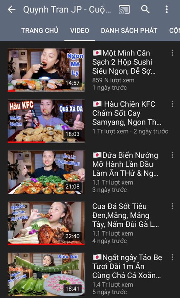 Đẳng cấp của Quỳnh Trần JP - Youtuber ẩm thực đang hot nhất MXH: 5 ngày ra 5 video mukbang, thu về gần 6 triệu views nhanh ngỡ ngàng - Ảnh 3.