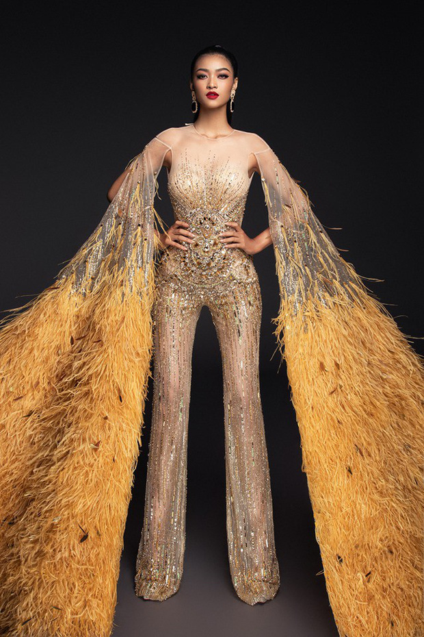 Chọn trang phục chưa có tiền lệ trong đêm thi bán kết, may mắn có mỉm cười với Kiều Loan tại Miss Grand - Ảnh 4.