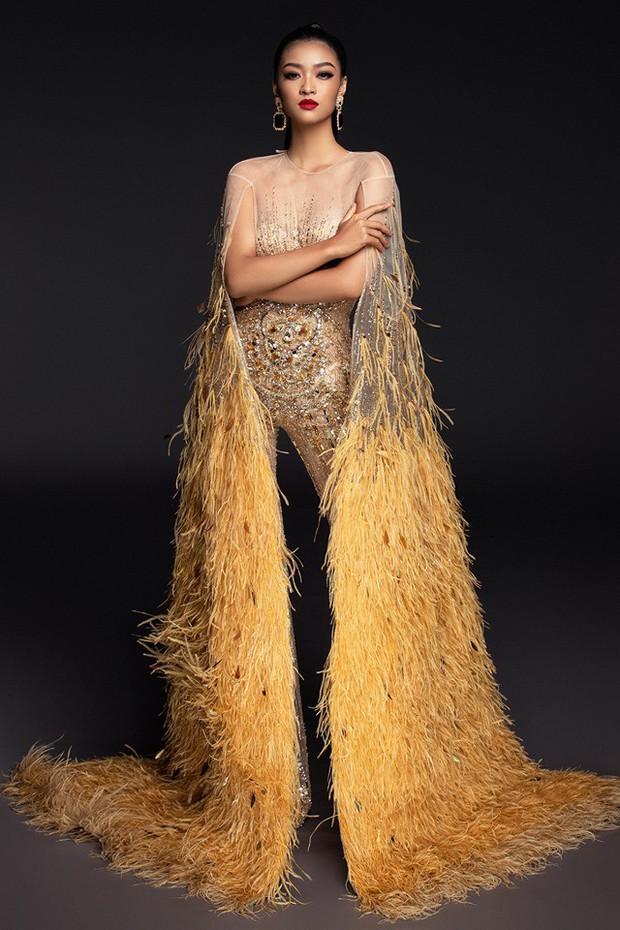 Chọn trang phục chưa có tiền lệ trong đêm thi bán kết, may mắn có mỉm cười với Kiều Loan tại Miss Grand - Ảnh 3.