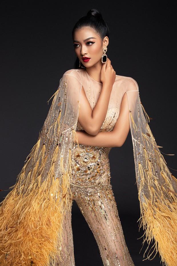 Chọn trang phục chưa có tiền lệ trong đêm thi bán kết, may mắn có mỉm cười với Kiều Loan tại Miss Grand - Ảnh 1.