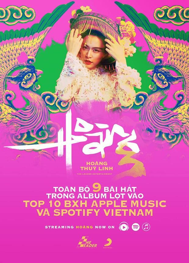 Chỉ sau 3 ngày, album Hoàng Thùy Linh đã lập kỷ lục chưa ca sĩ nào đạt được ở Việt Nam, nữ hoàng album Mỹ Tâm cũng chưa kịp có? - Ảnh 1.