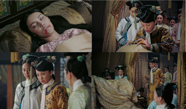 4 màn cung đấu trên phim drama hơn cả vụ Hoàng Quý Phi Thái Lan bị phế truất: Châu Tấn bị tát nát mặt, Tưởng Hân đập đầu tự vẫn - Ảnh 3.