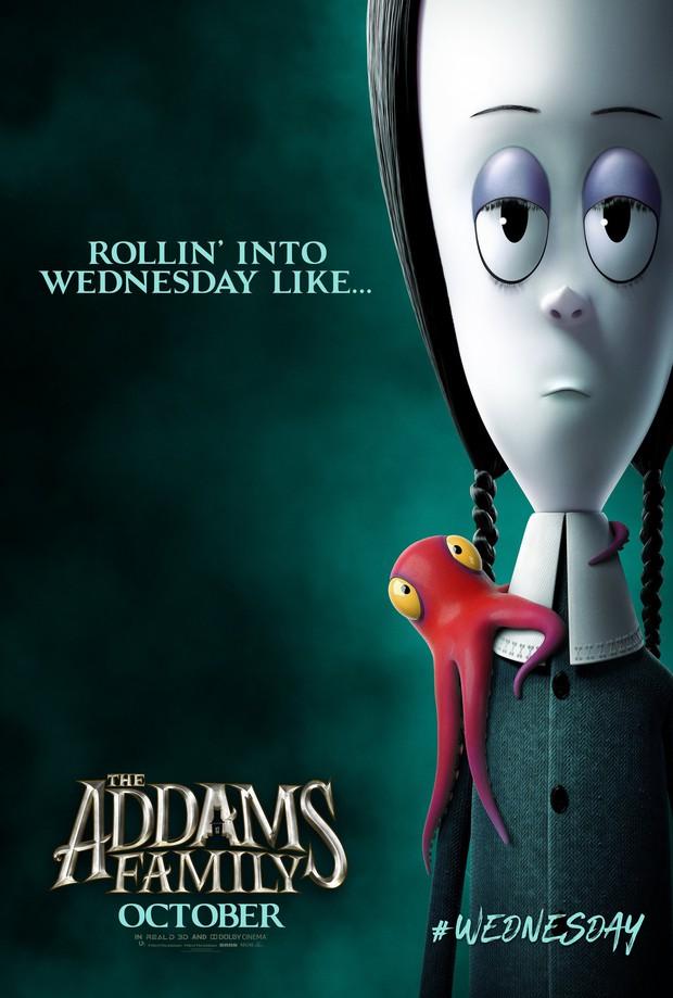 Cười đến nội thương với Gia Đình Addams - Hoạt hình kinh dị hài tét rún mùa Halloween - Ảnh 6.
