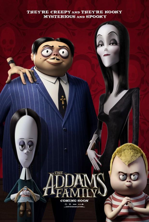 Cười đến nội thương với Gia Đình Addams - Hoạt hình kinh dị hài tét rún mùa Halloween - Ảnh 14.