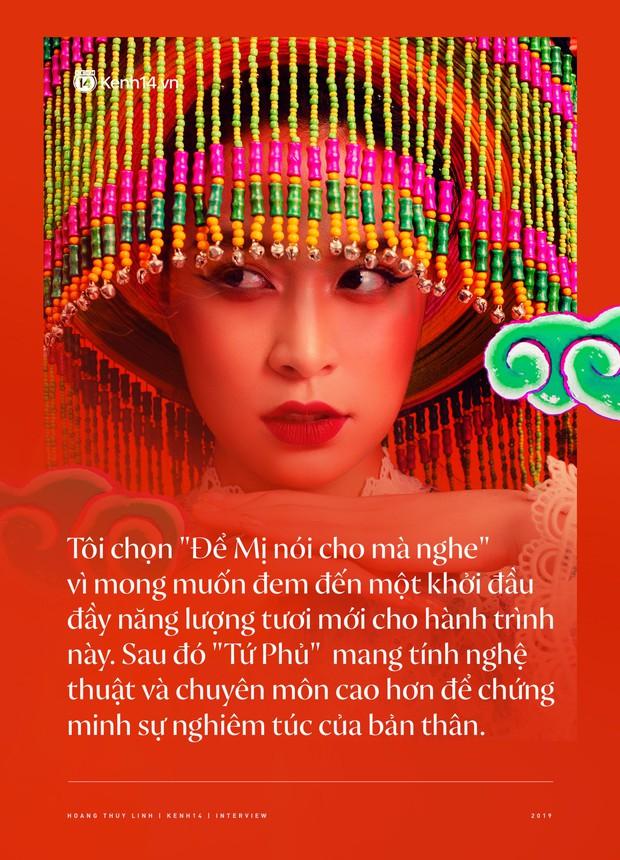 Hoàng Thuỳ Linh: Ngay cả lúc chết, Tấm vẫn là Hoàng Hậu, phải trải qua bao lần chết đi sống lại để quay về vị trí ban đầu - Ảnh 3.
