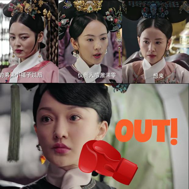 4 màn cung đấu trên phim drama hơn cả vụ Hoàng Quý Phi Thái Lan bị phế truất: Châu Tấn bị tát nát mặt, Tưởng Hân đập đầu tự vẫn - Ảnh 2.