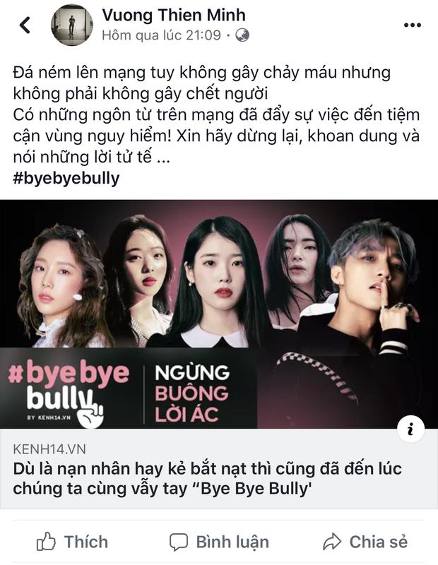 #ByeByeBully: Châu Bùi, Quang Đại, Khánh Vy và rất nhiều bạn trẻ đã lên tiếng chống lại sát thủ mạng, còn bạn thì sao? - Ảnh 12.