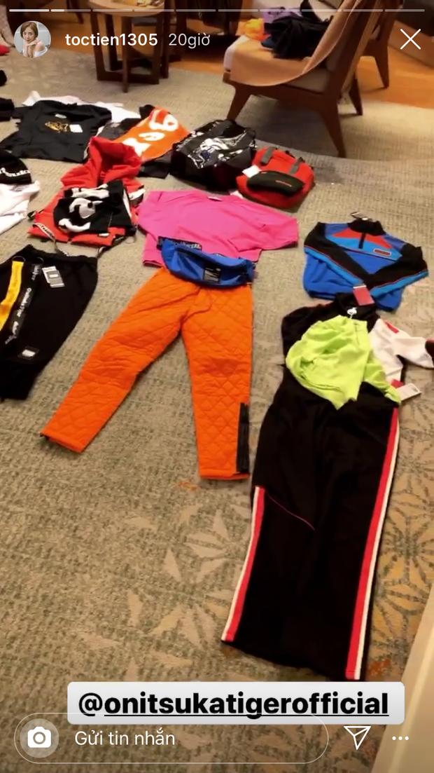 """Tóc Tiên chính là chúng ta mỗi lần đi chơi xa: Đến Nhật phải mang """"sương sương"""" cả chục bộ đồ mới đủ chụp hình sống ảo! - Ảnh 2."""