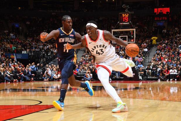 NBA 2019-2020: Pascal Siakam bị truất quyền thi đấu, Toronto Raptors vượt qua New Orleans Pelicans trong hiệp phụ - Ảnh 2.