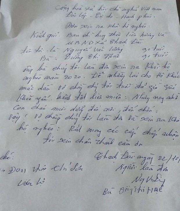 Chuyện về cặp vợ chồng 90 tuổi bất ngờ viết đơn xin thoát nghèo - Ảnh 2.