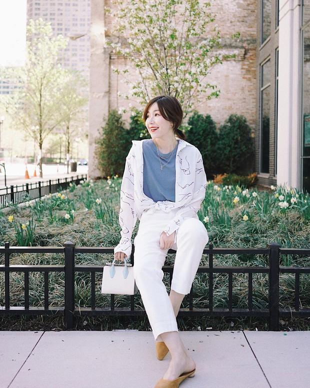Vẻ ngoài của bạn sẽ tăng bội phần sang xịn và thời thượng chỉ bằng cách diện quần trắng - Ảnh 6.