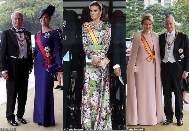 Cộng đồng mạng phát sốt với vẻ đẹp thoát tục không góc chết của Hoàng hậu Bhutan ở Nhật Bản khi tham dự lễ đăng quang - Ảnh 10.