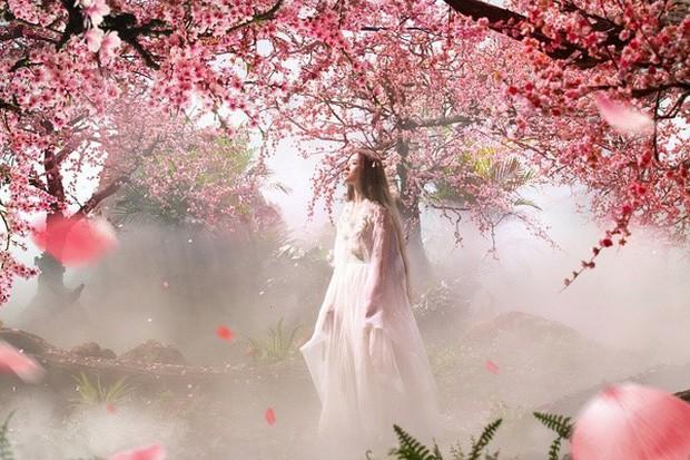10 diễn viên Hoa ngữ cứ khoác áo lụa trắng lên là biến ngay thành thần tiên thoát tục ai nhìn cũng cưng - Ảnh 22.