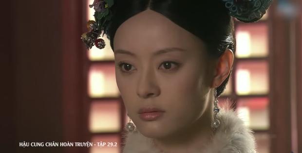 4 màn cung đấu trên phim drama hơn cả vụ Hoàng Quý Phi Thái Lan bị phế truất: Châu Tấn bị tát nát mặt, Tưởng Hân đập đầu tự vẫn - Ảnh 10.